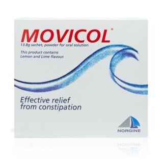 Movicol Powder - 30 Lemon & Lime Sachets