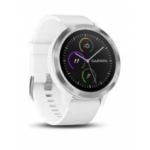 Garmin Vivoactive 3 Gps Smartwatch With Built-In Sports Apps And Wrist Heart Rate - White