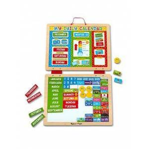 Melissa & Doug My First Daily Magnetic Calendar, One Colour