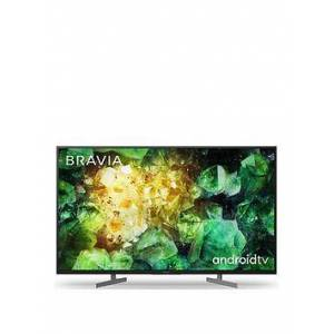 Sony Bravia Kd49Xh81, 49-Inch, 4K Hdr Ultra Hd, Android Smart Tv With Voice Remote - Black