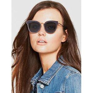 Jimmy Choo Nile Sunglasses - Gold/Blue, Blue, Women