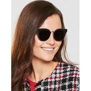 Jimmy Choo Nile Sunglasses - Gold/Black , Gold/Black, Women