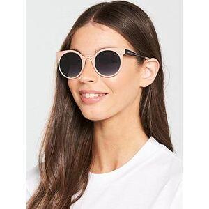 Puma Rectangle Sunglasses - Pink/Black, Pink, Women