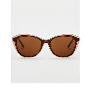 DKNY Concrete Jungle Tortoiseshell Wayfarer Sunglasses - Brown, Brown, Women