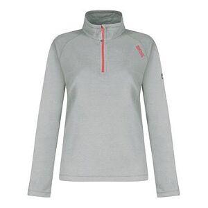 Regatta Montes Half Zip Fleece Top, Grey, Size 14, Women
