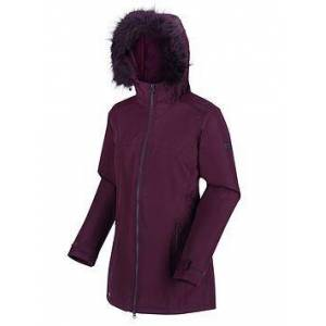 Regatta Myla Waterproof Jacket - Dark Burgundy , Dark Burgundy, Size 20, Women