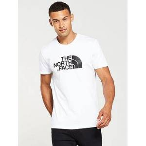 THE NORTH FACE Short Sleeve Easy T-Shirt - White, White, Size Xl, Men