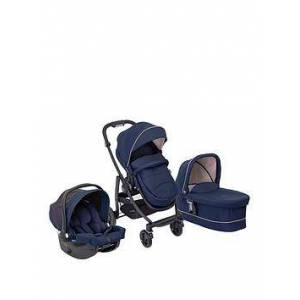 Graco GRACO EVO TRIO (WITH SNUGESSENTIALS ISIZE INFANT CAR SEAT), Eclipse