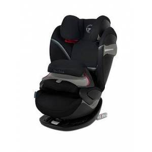 Cybex Pallas S Fix Group 1/2/3 Safety Cushion Car Seat - Deep Black, Deep Black
