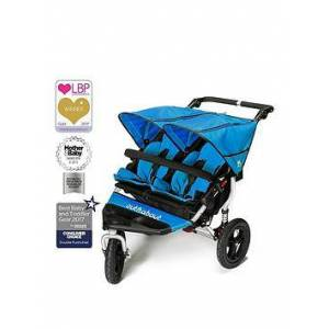 Out 'N' About Out n About Nipper Double V4 Pushchair, Blue