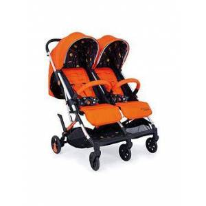 Cosatto Woosh Double Stroller - Spaceman, One Colour