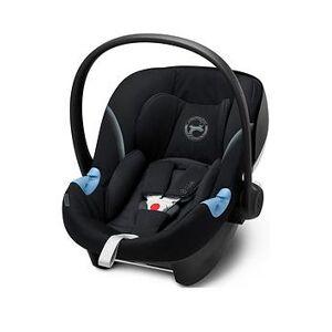 Cybex Aton M i-Size i-Size Infant Carrier - Deep Black, Deep Black