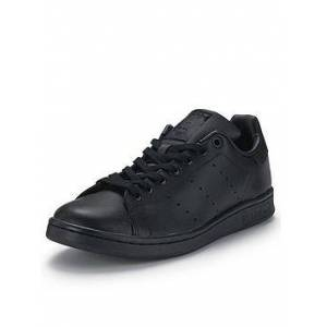 adidas Originals Stan Smith Mens Trainers, Black, Size 10, Men