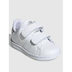 adidas Originals adidas Originals STAN SMITH CF Infant Trainer, White, Size 8