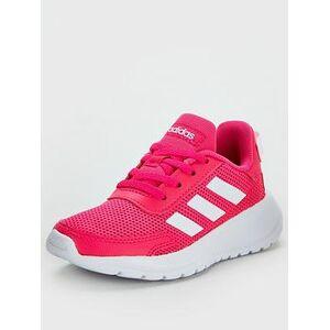 adidas Tensaur Run Childrens Trainers - Pink/White, Pink/White, Size 6