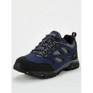Regatta Holcombe IEP Low Hiking Shoes - Navy , Navy, Size 7, Men