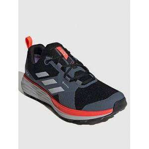 adidas Terrex Two GTX - Black/Red , Black/Red, Size 12, Men
