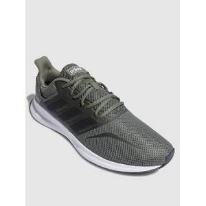 adidas Runfalcon - Khaki/White , Khaki/White, Size 10, Men