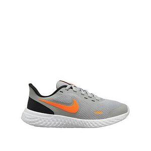 Nike Revolution 5 Junior Trainers - Grey, Grey, Size 5.5