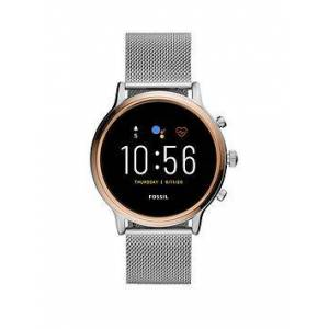 Fossil Julianna HR Smartwatch - Stainless Steel, One Colour, Women