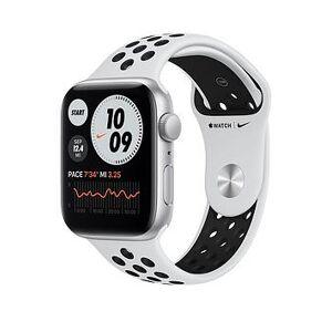 Apple Watch Nike Se (Gps), 44Mm Silver Aluminium Case With Pure Platinum/Black Nike Sport Band