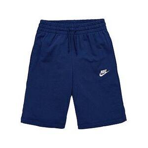 Nike Boys, Nike OLDER BOYS NSW JERSEY SHORT, Navy, Size Xs=6-8 Years