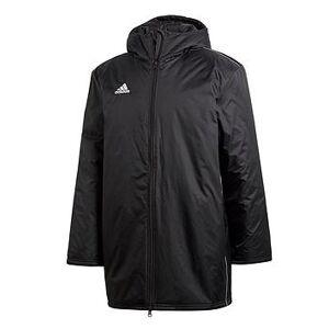 adidas Core Stadium Jacket - Black , Black, Size M, Men