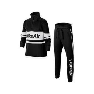 Nike Air Sportswear Older Boys Tracksuit - Black/White, Black/White, Size Xs=6-8 Years