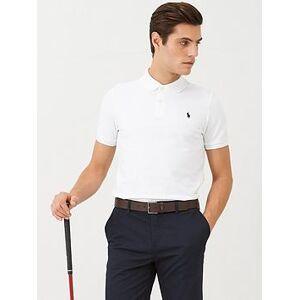 Polo Ralph Lauren Golf Stretch Mesh Polo Shirt - White, White, Size M, Men