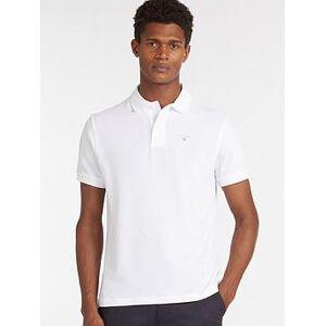 Barbour Sports Polo - White, White, Size M, Men