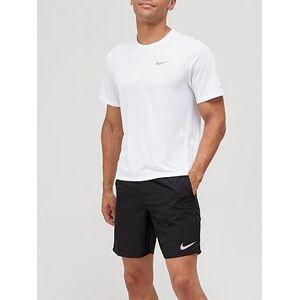 Nike Miler Running Top - Nike, White, Size M, Men