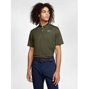 Nike Golf Dri-fit Victory Polo, Green/White, Size M, Men