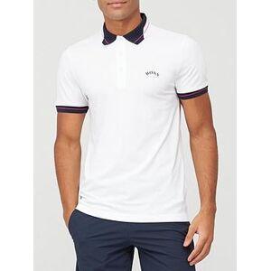 BOSS Hugo Boss Golf Paule Polo, White, Size M, Men