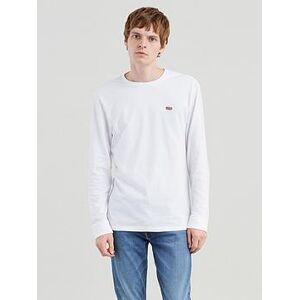 Levi's Long Sleeve T-shirt - White, White, Size Xl, Men