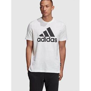 adidas Badge Of Sport T-Shirt - White , White, Size M, Men