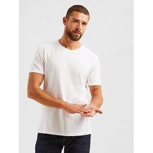 FatFace Lulworth Short Sleeve T-shirt - White, White, Size Xl, Men