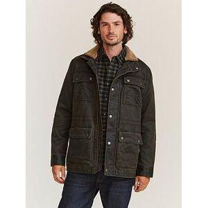 FatFace Broadsands Wax Field Jacket - Brown , Brown, Size M, Men