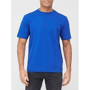 BOSS Tchup Centre Logo T-shirt - Blue, Blue, Size 2Xl, Men
