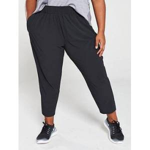 Nike Running Essential Pant (Curve) - Black , Black, Size 26-28=3X, Women