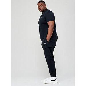 Nike Plus Size Cargo Club Pant - Black , Black, Size 4Xl, Men