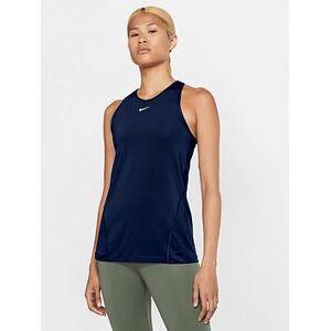 Nike Training Pro Tank Top - Blue , Blue, Size 2Xl, Women