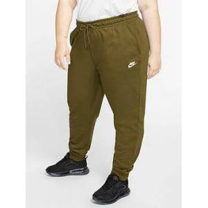 Nike NSW Essential Pants (Curve) - Olive , Olive, Size 18-20=1X, Women