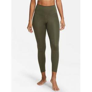 Nike Yoga Legging, Khaki, Size M, Women