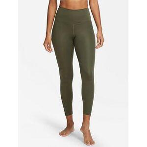 Nike Yoga Legging, Khaki, Size Xl, Women