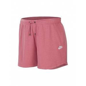 Nike NSW Essential Shorts (Curve) - Pink , Pink, Size 22-24=2X, Women