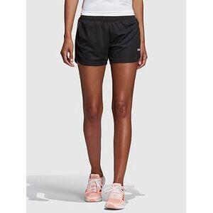 adidas Designed 2 Move 3 Stripe Knit Short - Black , Black, Size Xl, Women