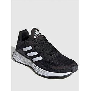 adidas Duramo SL - Black/White , Black, Size 4, Women
