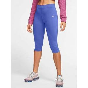 Nike NSW Leg-A-See Knee Length Leggings - Violet , Lilac, Size Xs, Women