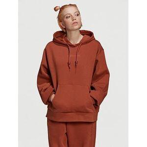 adidas Originals Oversized Hoodie - Brown, Brown, Size 14, Women