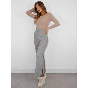 Missguided Culotte Co-ord, Grey, Size 18, Women